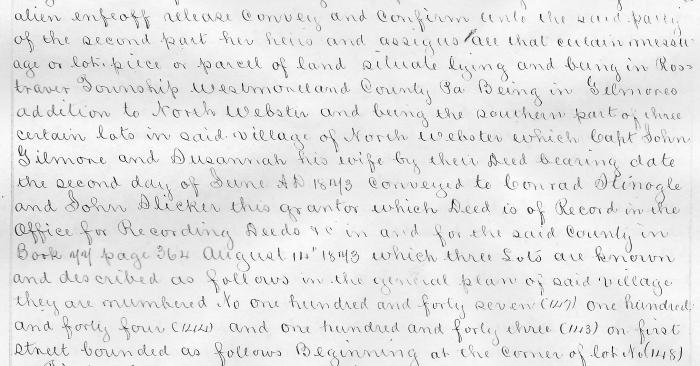 1880 Desription of Property